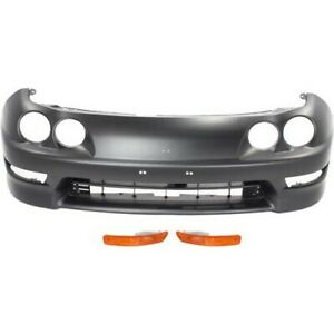 Bumper Kit For 98 2001 Acura Integra Front For Models Made In Usa 3pc