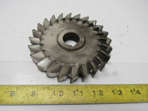 Morse 5 X 25 32 23t Slitting Slot Cutter Blade 1 Keyed Bore