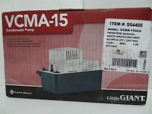 Little Giant Vcma 15uls Automatic Condensate Removal Pump W safety Switch 1 50hp