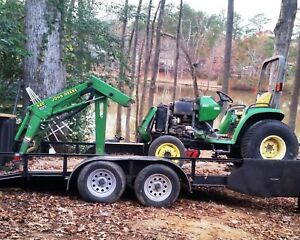John Deere 4300 Tractor With 420 Loader