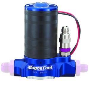 Magnafuel Electric Fuel Pump Mp 4401 Prostar 500 Black Blue For Gas Alcohol