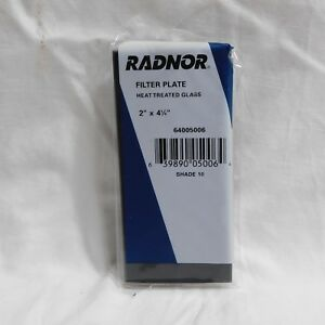 Radnor Glass Filter Plate 2 X 4 1 4 Shade 10 lot Of 39