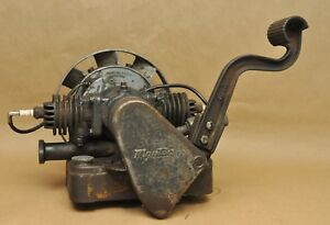 Vintage Maytag Eisemann Model 72 D Twin 2 Cylinder Motor Gas Engine