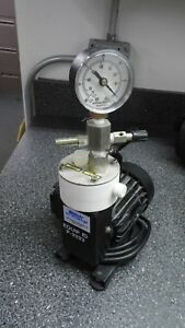 Welch 2010b 01 Single Stage Chemical Duty Vacuum Pump