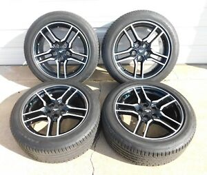 2005 2018 Ford Mustang Gt 18 Alloy Wheels Tires Oem Black