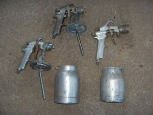 Devilbiss Paint Spray Gun Spray Gun Lot Vintage