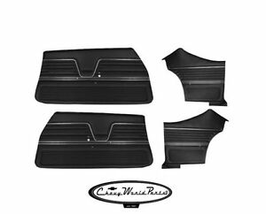 1969 69 Chevelle Malibu Preassembled Door Panel Kit Front And Rear
