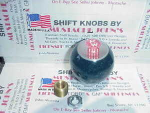 Kenworth Crooked Kw Retro Glitter Shift Knob kelly Green