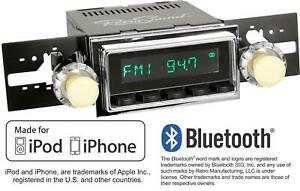Retrosound 68 71 Ford Lincoln Mercury Long Beach Radio Bluetooth Iphone Aux In