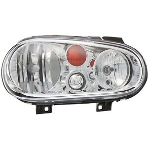 Headlight For 2002 2005 Volkswagen Golf Right With Bulb Clear Lens Halogen