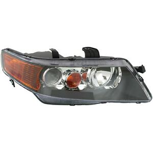 Headlight For 2004 2005 Acura Tsx Base Model Right Clear Lens Hid