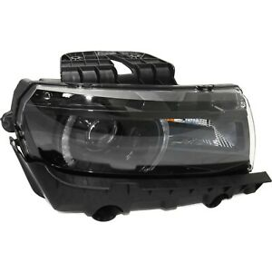 Headlight For 2014 2015 Chevy Camaro Ss Lt Right Hid With Bulb With Rs Package