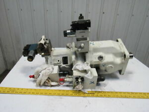 Brueninghaus Aa10vso Variable Axial Piston Double Hydraulic Pump Stack W valves