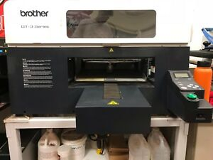 Used White Brother Gt 361 Dtg Industrial Clothing Printer