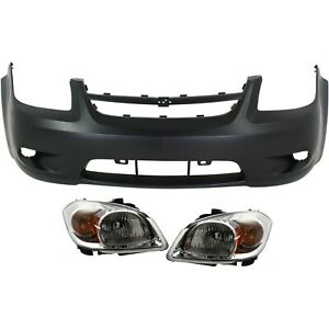 New Kit Auto Body Repair Front For Chevy Cobalt Gm1000827 Gm2502281 Gm2503281
