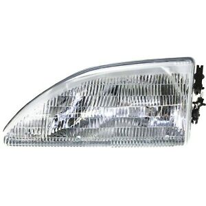 Headlight For 94 95 96 97 98 Ford Mustang Gt 95 Mustang Gts Left With Bulb