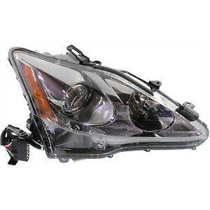 Headlight For 2011 2012 2013 2014 2015 Lexus Is250 Right With Bulb