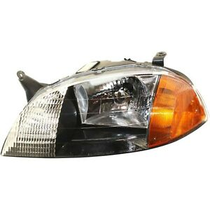 Headlight For 1998 2001 Chevrolet Metro Driver Side