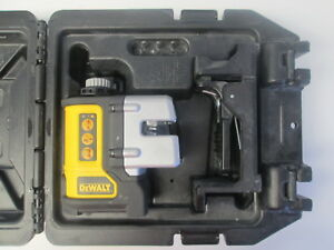 Dewalt Dw089 Self Leveling 3 Beam Line Laser Level W hardcase