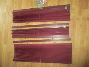 Chevy Dodge Ford Conversion Van Shades Blinds Draw String Side Windows Set Of 3