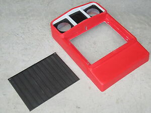 Fiberglass Grill Surround And Insert For Ih International 184 Cub Lo boy