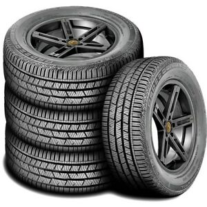 4 New Continental Conticrosscontact Lx Sport 225 65r17 102h A s All Season Tires