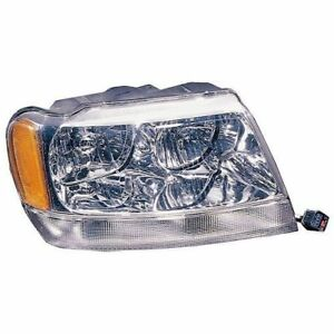 Jeep 99 04 Wj Grand Cherokee Headlight Rh Wj Limited X 12402 10