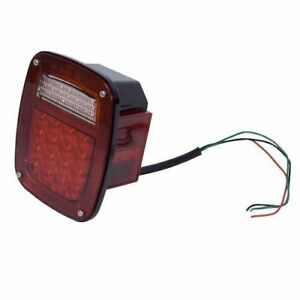 New Jeep Cj Yj Tj 76 06 Led Tail Light Assembly Rh X 12403 82