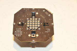 Photon Dynamics Led Board With Heatsink 18 Large Led Diodes Drivers Project
