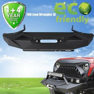 For Jeep Wrangler Jk Front Bumper Angry Front Bumper Protection Body Oem Replace