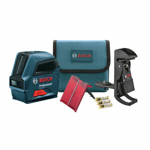 Bosch Self leveling Cross line Laser Gll50 rt Recon 5