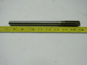 Hannibal Carbide Tool Type 800 Reamer 6 Straight Flute 9 Oal