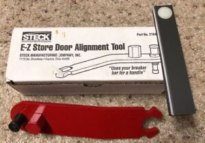 Steck 21845 E z Store Door Alignment Tool And Panel Gap Gauge Used 1 Time