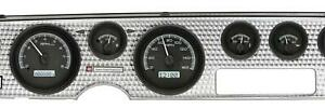 Dakota Digital 70 81 Firebird Analog Gauges Black Alloy White Vhx 70p Fir K W