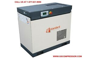 50 Hp Rotary Screw Air Compressor 232 Cfm Output