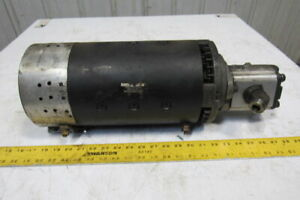Clark Fork Lift Electric Motor 36 48vdc W parker 3349111877 Hydraulic Pump