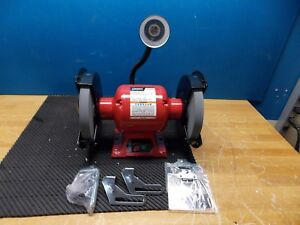 Sunex Bench Grinder With Light 8 Wheel Dia 3 4 Hp 3450 Rpm 5 8 Arbor 5002a