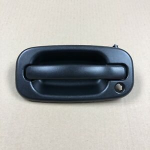 Oem 19356468 Door Handle W Lock Provision Front Outer Lh Textured Black For Gm