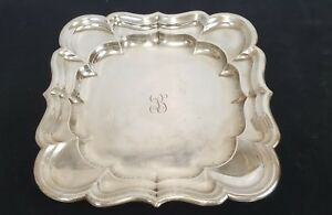 Sterling Silver Reed Barton Windsor X959 Scallop Platter Tray 13 5 29 62 Toz