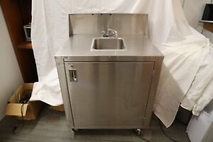Portable Single Sink Stainless Steel Event Festival Catering Hot