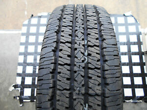 1 Barely Used Tire 265 75 16 Firestone Transforce Ht Lt265 75r16 Lre W Letter