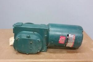 Reliance Electric Frfb56 1 3hp Right Angle Gear Motor