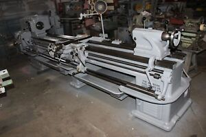 American Pacemaker Lathe 16 X 102 25 To 1 500 Rpm Taper Attach 15hp