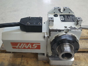 Ha5c Haas 4 Axis Rotary Table Collet Indexer Excellent Working Condition