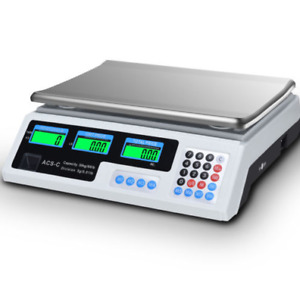 Kitchen Digital Price Postal Weight Retail Diet Food Meat Balance Steel Scale
