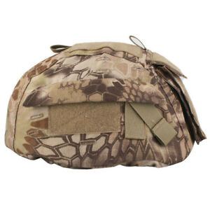 Tactical Helmet Cover HLD Camo for MICH TC-2002 ACH Helmet Military Hunting