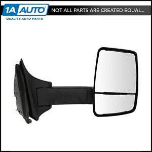 Mirror Manual Velvac Style Textured Black Passenger Right Rh For 99 10 Ford Sd