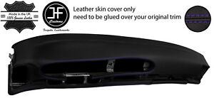 Purple Stitch Oval Dashboard Leather Cover For Porsche 944 968 86 95 Style 2