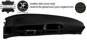 Brown Stitch Oval Dashboard Leather Cover For Porsche 944 968 86 95 Style 2