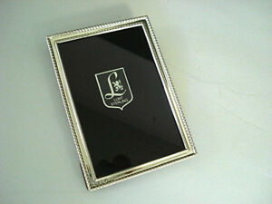 Small Lunt Sterling Silver Picture Frame